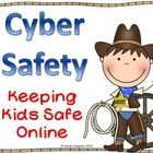 Cyber Safety & Cyberbullying | Keeping our students safe online is as important as keeping them safe on the playground. I'm sharing videos, online games, role playing, pledges, badges, printables and more with a Sheriff Cyber Sam theme. 37 pages by Sweet Integrations on Teacherspayteachers.com