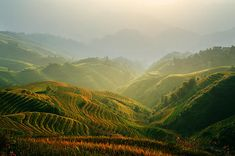 Sunrise At Terrace In Guangxi China 3 guangxi terrace field south china chinese far east southeast asia asian eastern oriental pacific country travel vacation holiday adventure journey Vacation Trips, Southeast Asia, Terrace, Oriental, Sunrise, Chinese, Journey, Asian, Adventure