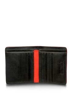 Red Contrast Unisex wallet