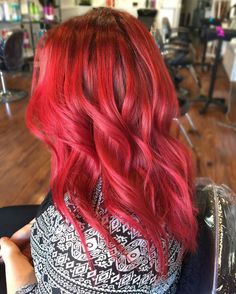 nice 25 Heart-Stopping Bright Red Hair Ideas– Looks Guaranteed to Spice Up Your Life Check more at http://newaylook.com/best-bright-red-hair-looks/