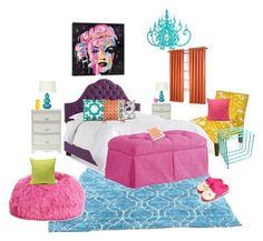 Splash of Colour (Bedroom Edition) Bungalow 5, Interior Decorating, Interior Design, Pbteen, Color Splash, Skyline, Interiors, Colour, Bedroom