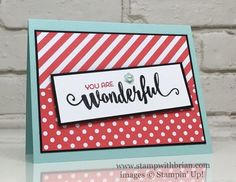 You Are Wonderful, Mary Fish! | Stamp with Brian | Bloglovin'