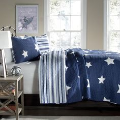 Lush Decor Star 5-piece Quilt Set | Overstock™ Shopping - The Best Prices on Lush Decor Kids' Quilts