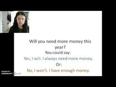 Here is a video about how to say I will and I won't. In this video you'll practise saying answers to questions, with I will and I won't. It's pretty easy. Won't means …