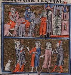 Manuscript     Beinecke MS.229 Arthurian Romances Folio     300v Dating     1275-1300 From     Francia (exact location unknown) Hold...