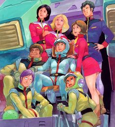 Gundam Origin by Yas