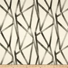 Genevieve Gorder Intersections Steam from @fabricdotcom  Designed by Genevieve Gorder, this medium weight cotton duck features slubs and is screen-printed. Use this versatile fabric for window treatments (draperies, valences), toss pillows, duvet covers, and lighter upholstery projects.