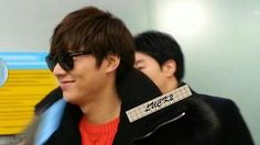 14 Deceember 2012. Lee Min Ho went to Shanghai, China for shooting CF Semir. Photo credit as tagged