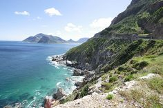 Chapman's Peak drive in Cape Town is regarded as one of the most scenic drives anywhere in the world.