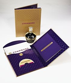 Chambord Product Launch Kit, Marketing Sales Kit by Jeff Snell, via Behance