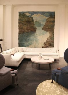 furniture placement - Habitually Chic®: Chic in Soho: BDDW