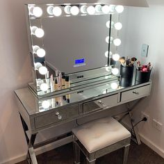 Josie it looks beautiful. Thank you for sending us this photo😊 Bedroom Furniture Sets, Bedroom Ideas, Full Mirror, Hollywood Mirror, Vanity, Instagram Posts, Table, Photos, Home Decor