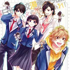 # Honeyworks #School girl / boy # Anime