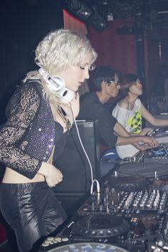 DJ Mirjami in MYST CLUB/ TAIWAN The best edm club with the best female DJane Mirjami