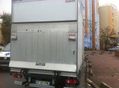 Camion de #demenagement avec hayon