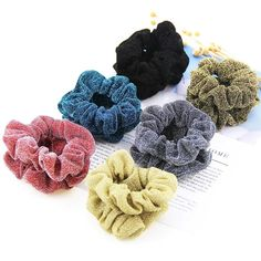 New Snowflake Print Slim Thin Telephone Wire Style Hair Stretchy Band Ponytail Holders Scrunchies Ponies Hair Rope Bracelets With Traditional Methods Apparel Accessories