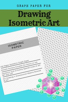 Isometric Paper : Grid of Equilateral Triangles, Useful for Designs such as Architecture or Landscaping, and planning Printer Projects and Maths Geometry in School Isometric Paper, Isometric Grid, Graph Paper Notebook, 3d Printer Projects, Paint Colors For Home, Technical Drawing, Pinterest Blog, 3d Design, Printers