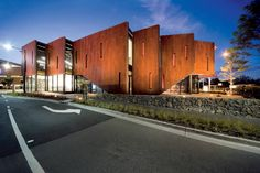 Botanicca Park Entry Buildings in Australia by Jackson Clements Burrows Architects
