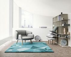 Contemporary Interior Design in Fusion Style Blending Scandinavian Style and Japanese Minimalism