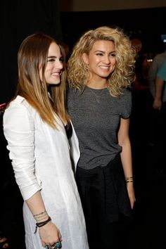JoJo and Tori Kelly at Grammys Westwood One Radio Remotes in Los Angeles 12/Feb/2016