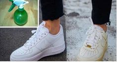 Use This Simple Trick to Clean Your Dirty White Shoes and Make Them White Again