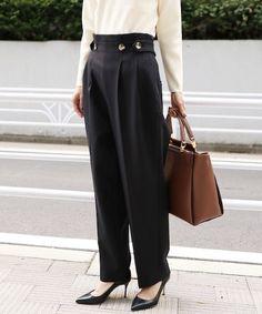 パンツ Work Wear, Street Style, Pants, Autumn, Inspiration, Clothes, Girls, Design, Women