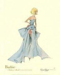 vintage barbie drawings - Google Search