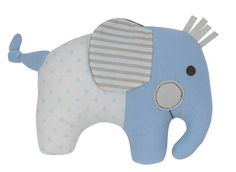 Adorable blue Elephant Softie Rattle by Tiger Tribe! Made from soft jersey and cotton fabrics in a lovely blend of decor colours - a beautiful and unique baby gift! Tiger Tribe, Baby Shop Online, Unique Baby Gifts, Baby Rattle, Baby Design, Baby Elephant, Softies, Colorful Decor, Baby Toys