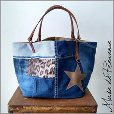 Recycle Jeans, Upcycle, Patchwork Bags, Denim Bag, Handmade Bags, Dressmaking, Sewing Crafts, Purses And Bags, Recycling