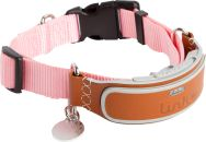 GPS enabled dog collar and smartphone app with fast, accurate location tracking, activity monitor, health records, LED light, audio training aid and more.