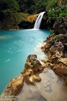 Tanap-Avis Falls, Burgos, Ilocos Norte