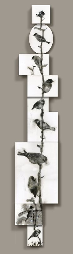 Steven Spazuk - uses soot from an open flame to create these spectacular images Decoration Inspiration, Painting Inspiration, Bird Art, Graphic, Installation Art, Great Artists, Sculpture Art, Amazing Art, Wall Art