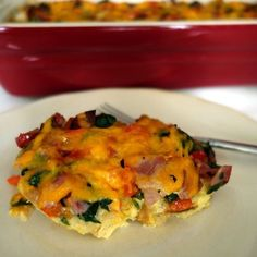 Family and friends will love this airy casserole made with ham and veggies.