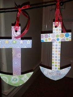 Flame: Creative Children's Ministry: God as our anchor craft and prayer activity