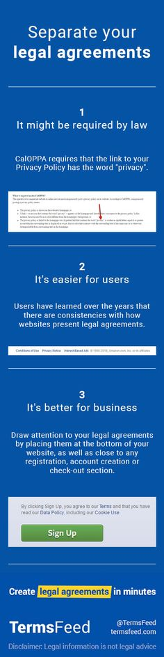 Terms of Service URL for Facebook app App and Mobile app
