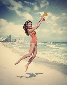 beach suits Vintage bathing