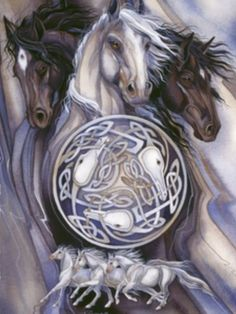 Celtic horse art