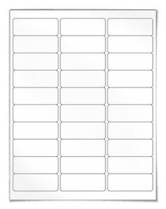 Blank Return Address Labels Template from i.pinimg.com