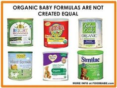 Breast milk is always best, but if you can't or choose not to, make sure you read the ingredients of the formula well.