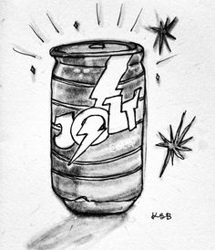 🔔#jolt #energydrink #inktober2018 #inktober #promptlist #sketch #sketchbook #instaart #artistsoninstagram Energy Drinks, Inktober, Insta Art, Prompts, Sketch, Artist, Sketch Drawing, Artists, Sketches