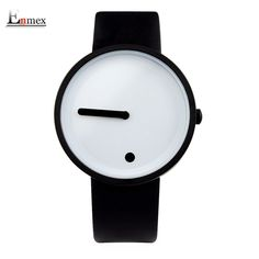 2017gift Enmex cool colour Minimalist style wristwatch creative design Dot  and Line simple stylish with quartz 595125ffef