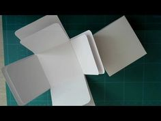 DIY CRAFT TUTORIAL : Exploding box card made from A4 card - YouTube