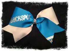 iFly iBase iBackspot iCheer All Star Allstar Cheer Bow. $10.00, via Etsy.