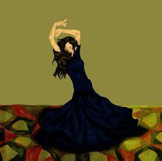 Tenar Dancing by Sivvus