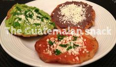 Ingredients: Avocado Home made tomato sauce Home made black beans Fried tortillas Cheese Parsley  I miss making these snacks.