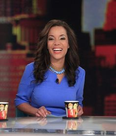 CNN News Anchor Sunny Hostin