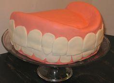 #Denture #Cake #Birthday