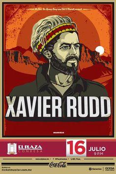 Xavier Rudd  El Plaza Condesa  Miércoles 16 de Julio 21Hrs.