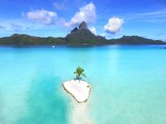 Bora Bora One Set on a small private islet just... | Luxury Accommodations