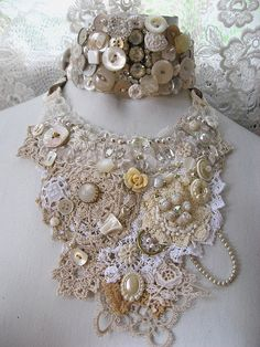Once Upon a Time Necklace by AllThingsPretty, via Flickr